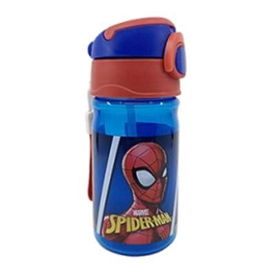 Danawares Spiderman Flip Top Bottle with Handle 380Ml Age/Grade 3+: Toys & Games