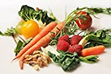 LAMINATED 36x24 inches POSTER: Carrot Kale Walnuts Tomatoes Vegetable Food Healthy Diet Green Nutrition Organic Vegetarian Eating Fresh Raw Vegan Tomato Garden Fresh Vegetables Spinach Bok Choy