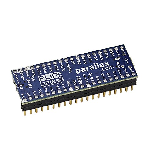 Price comparison product image Parallax Propeller FLiP Microcontroller Module