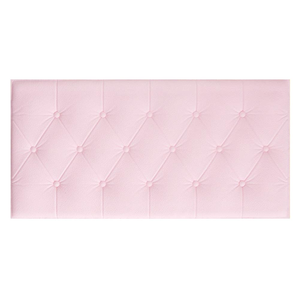 WENZHE Upholstered Wall Panels DIY Tuft Headboard Tiles Wall Decor Home 3D Stereo Waterproof Collision Multifunction Soft Case, 8 Colors (Color : E, Size : 3pcs)