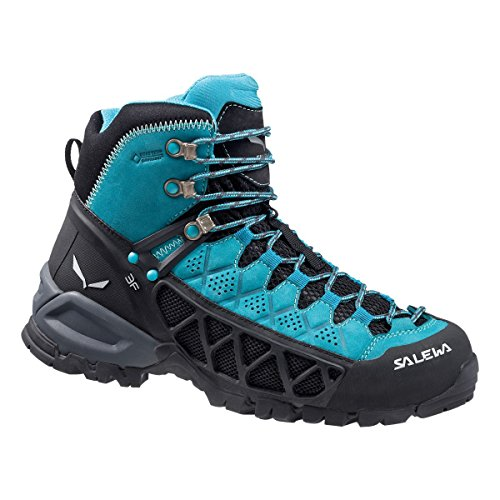 Alp Women''s Light Hiking Flow Rise Mid Shoes Gore tex Salewa Ws Blue High EHqwdp