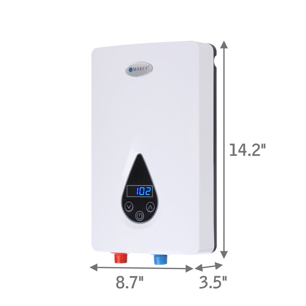 Marley Eco 110 Water Heater Wiring Diagram Simple Marey Eco110 220v Self Modulating 11 Kw Small White Electric Construction