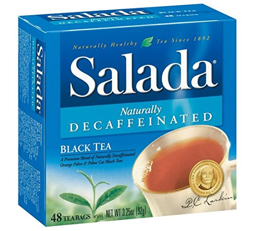 Salada Naturally Decaffeinated, 48-count Boxes (Pack of 2)