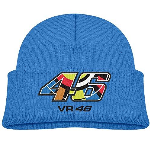 VR46 Beanie 46 Kid Blue