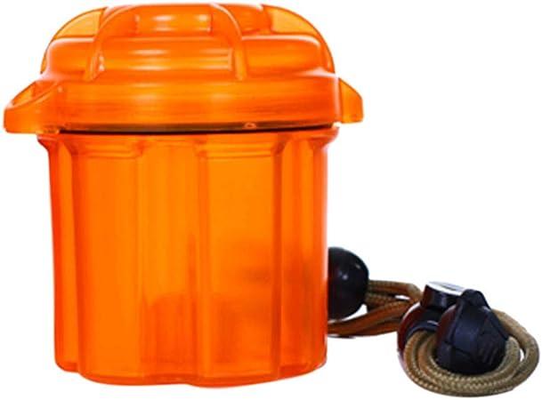 Wawer - Caja para Pilas (18650 / AA/AAA / 2A / 3A), Naranja, Talla única: Amazon.es: Hogar