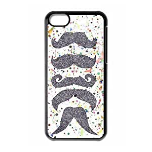 Cool mustache Cheap Custom Cell Phone Case Cover for iPhone 5C, Cool mustache iPhone 5C Case