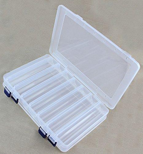 Plastikbox Angelbox Köderbox zubehörbox Angel Box TACKLEBOX (JCB203)
