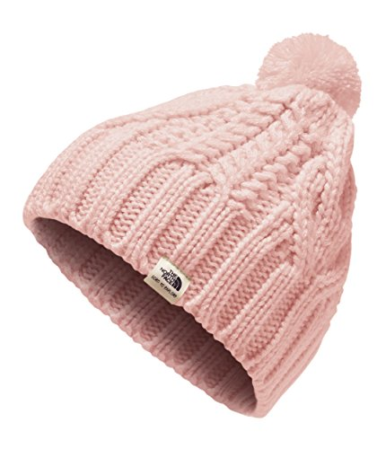 - The North Face Baby Cable Minna Beanie - Purdy Pink - XS