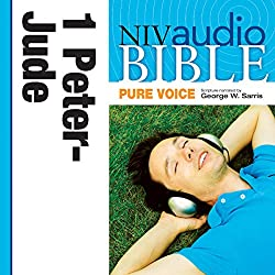 NIV Audio Bible, Pure Voice: 1 and 2 Peter; 1, 2 and 3 John; and Jude