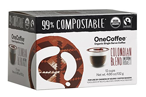 OneCoffee Organic Colombian Compostable Machines