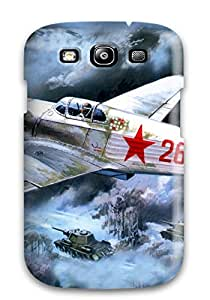 DeaneRipman Premium Protective Hard Case For Galaxy S3- Nice Design - Aircraft