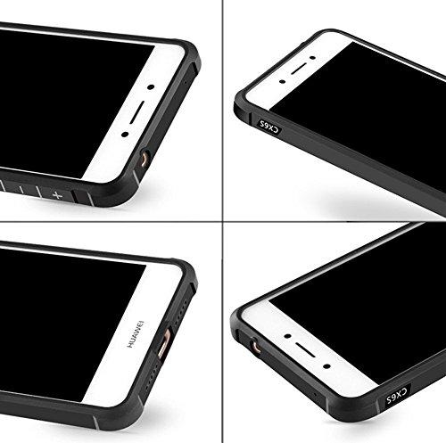 Huawei Nova Smart Funda, Calidad Premium Cubierta Delgado Caso de TPU Silicona Funda Protective Case Cover para Huawei Nova Smart Azul
