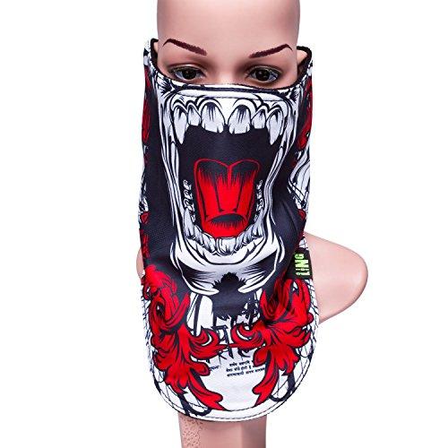 Outdoor Multifunctional Sports Magic Mask, Magic Bandanas Tube, Seamless Scarf, Collars Muffler Scarf Face Mask, High Elastic Magic Headband with Uv Resistance, Headscarves, Headbands (Color-1)