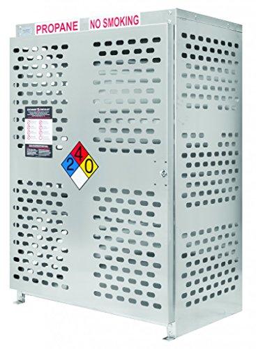 Aluminum - 18 CYLINDER 20# RETAIL EXCHANGE STYLE CAGE ()
