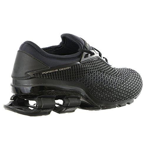 Porsche Design Bounce S4 Style 2.0 Driving Fashion Running Sneaker - Mens Core Black / Core Black