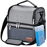 Best Mens Lunch Boxes - Insulated Lunch Bag, STNTUS Leakproof Cooler Lunch Box Review