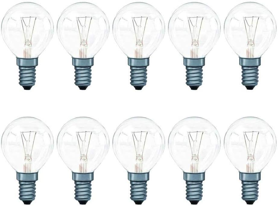LED E27 Filament Tropfenform 4 Watt 390 Lm 230 V//AC warm weiß 2700K dimmbar
