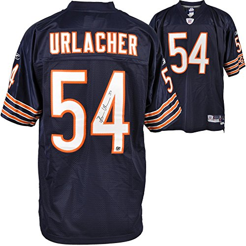 Chicago Bears Brian Urlacher Autographed Jersey - Fanatics Authentic Certified - Autographed NFL - Urlacher Brian Bears Jersey