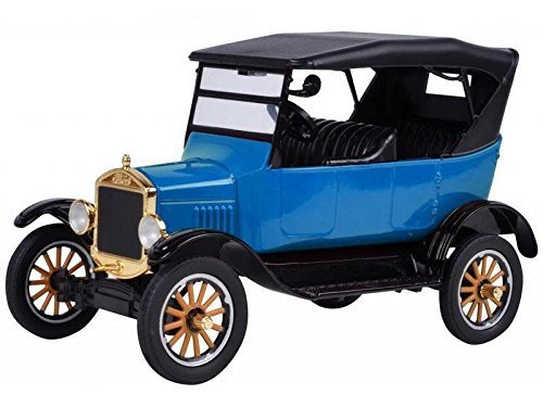 Motormax 1925 Ford Model T Touring Blue 1/24 Diecast Model Car