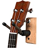 String Swing CC01UK - Ukulele / Mandolin Hardwood Wall Hanger for Home & Studio (Cherry Finish)