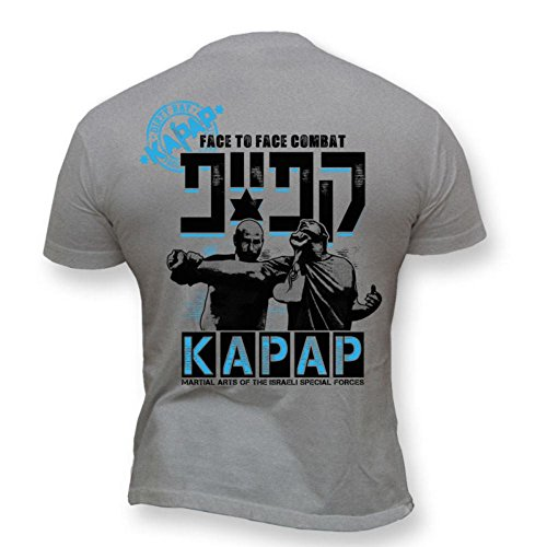 Dirty Ray Kampfsport Kapap Israeli Combat System Herren Kurzarm T-Shirt K21