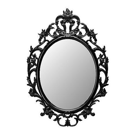 Ikea Miroir Ovale Noir 18210 51123 1220 Amazon Fr