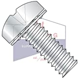 2-56X1/8 SEMS Screws | Internal Tooth Washers | Phillips | Pan Head | Steel | Zinc (QUANTITY: 10000)