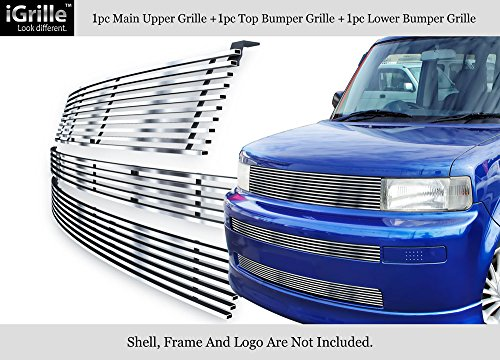 APS 304 Stainless Steel Billet Grille Combo Fits 03-07 Scion XB #N19-C77978T