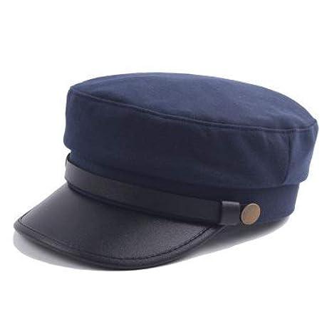 migliori scarpe da ginnastica prezzo ridotto grande sconto LMZXH&M Cappello Militare Cappello Invernale in Pelle ...