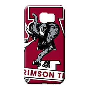 samsung galaxy s6 edge Proof Plastic Eco-friendly Packaging mobile phone covers alabama crimson tide logo
