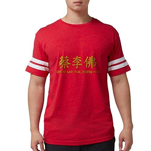 CafePress - Choy Lay Fut Caligraphy T-Shirt - Mens Football Shirt