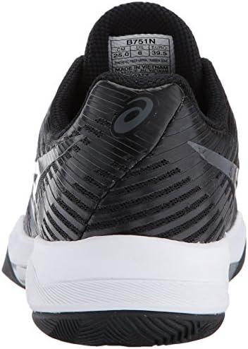ASICS - Frauen Volley Elite Ff Schuhe, 42 EU, Black/Dark Grey/White