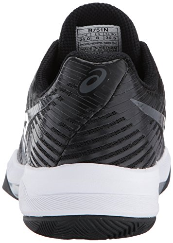 Mujer Elite Asicsb751n 9095 Negro Oscuro Ff Gris Para Blanco Volley De gxaqF