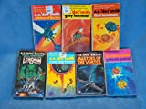 E.E. Doc Smith Lensmen Series-7 volumes (First Lensman,Galactic Patrol, Gray Lensman,Masters of the Vortex,Children of the Lens,Second Stage Lensman, Triplanetary)