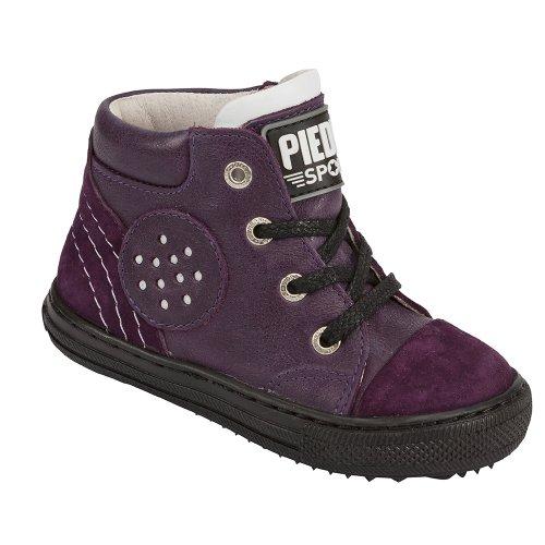 Piedro , Mädchen Schnürhalbschuhe, Violett - violett - Größe: 29 Wide