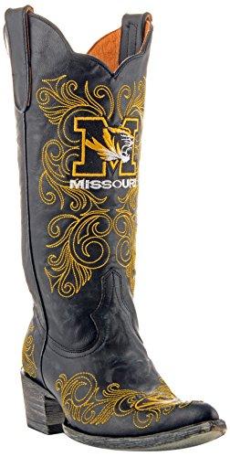 Ncaa Missouri Tijgers 33 Cm Van Gameday Laarzen Zwart