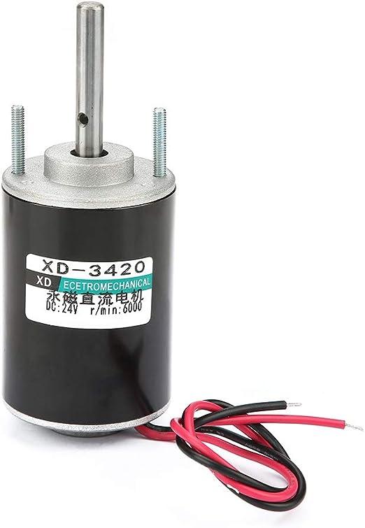 Alto esfuerzo de torsión 12V DC 30 RPM Caja De Engranajes Motor Eléctrico reversible de control de velocidad