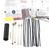 2 Drop Pull Tools, 2 Plastic Handle Kistkas, 2 Beeswaxes, Wire, 5 Dyes Easter Egg Decorating Kit