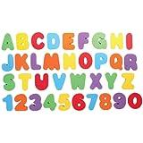 TOYANDONA 1 Set Bath Numbers Floating Educational Foam Alphabet Numbers Baby Bath Toy Swimming Pool Toys for Preschool…