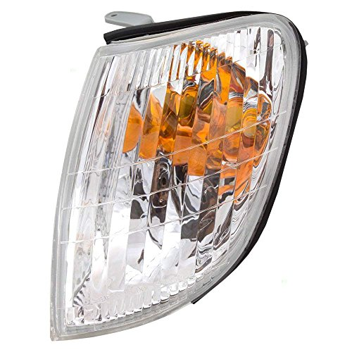 OE Replacement Lexus LS400 Front Driver Side Signal Light Lens/Housing (Partslink Number LX2532101)