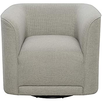 Amazon Com Juno Swivel Accent Chair In London Fog With