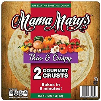 Mama Marys Pizza Crust 12in Thin Crspy by Mama Mary's
