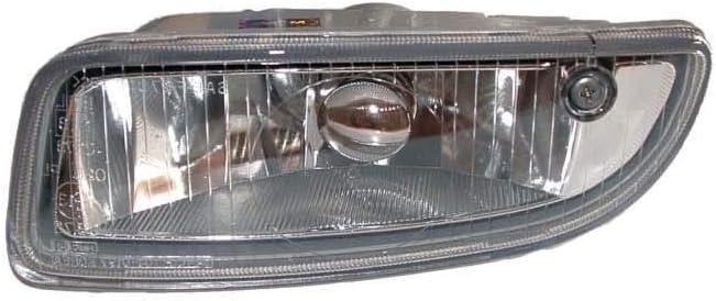 For Toyota Corolla 01-02 Clear Lens Front Bumper Fog Light Lamp Pair RH+LH Side