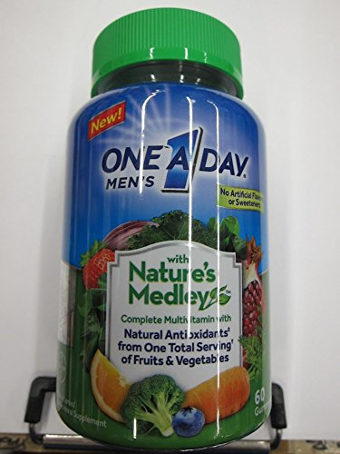 Natures Medley - One A Day Men's Gummy Nature Medley, 60 Count