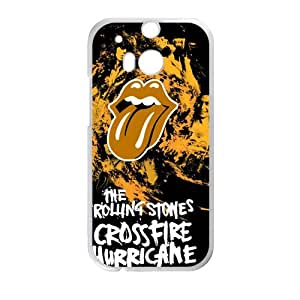 Happy The Rolling Stones Cell Phone Case for HTC One M8