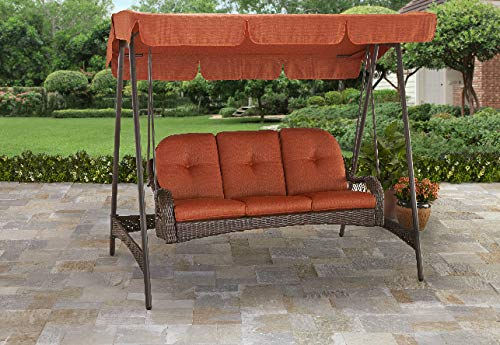 Better Homes & Gardens Porch Swing with Canopy – The Porch Swing with an Upscale Design
