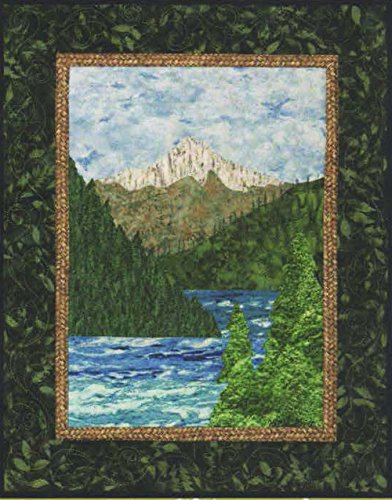 Bello Mounts - Mount Hood - Bella Vista Landscape Vignettes by Helene Knott - Applique Pattern -
