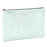 SCOUT Golden Girl Pouch & Clutch, Fits iPad Mini, Water Resistant, Zips Closed, Aqua Fresca