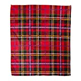 Best Plaid Home Collection Bird Houses - Emvency Flannel Throw Blanket Yellow Pattern Tartan Plaid Review