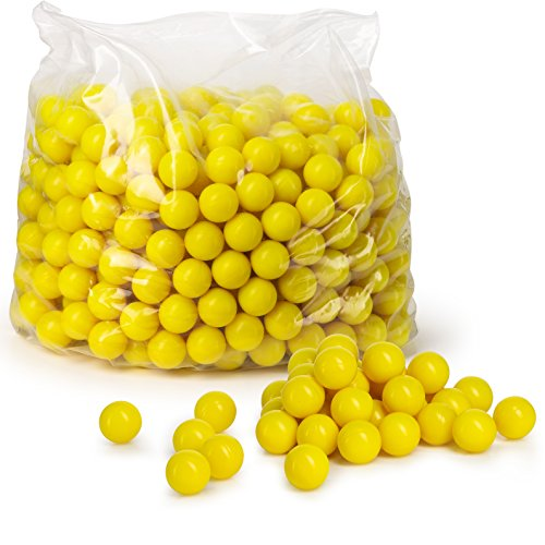 Veska V9010 High Grade Paintballs.68 Caliber, Yellow, 500 Count (500 Paintballs)